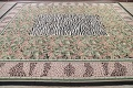 Transitional Animal Print Aubusson Oriental Hand-Woven Area Rug 12x15 image 13