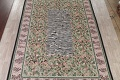 Transitional Animal PrintAubusson Chinese Hand-Woven Area Rug 10X14 image 3