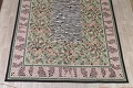 Transitional Animal PrintAubusson Chinese Hand-Woven Area Rug 10X14 image 5