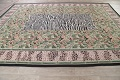 Transitional Animal PrintAubusson Chinese Hand-Woven Area Rug 10X14 image 13