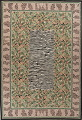Transitional Animal PrintAubusson Chinese Hand-Woven Area Rug 10X14 image 1
