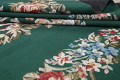 Floral Green Aubusson Chinese Oriental Hand-Woven Area Rug Wool 6x9 image 16