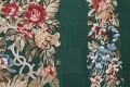 Floral Green Aubusson Chinese Oriental Hand-Woven Area Rug Wool 6x9 image 10