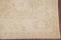 Vegetable Dye Muted Gold Oushak Turkish Hand-Knotted Area Rug 4x5 image 6
