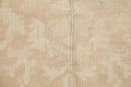 Vegetable Dye Muted Gold Oushak Turkish Hand-Knotted Area Rug 4x5 image 7