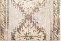 Pack Of Two Geometric Oushak Hand-Knotted Rug Wool 2x3 image 9