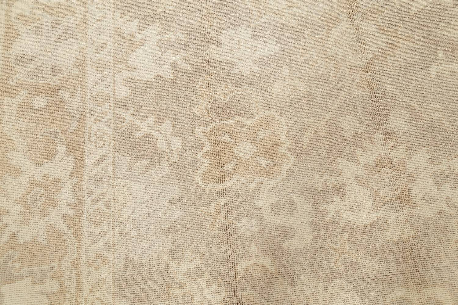 Vegetable Dye Muted Oushak Turkish Hand-Knotted Area Rug 8x16 image 10