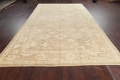 Vegetable Dye Muted Oushak Turkish Hand-Knotted Area Rug 8x16 image 15