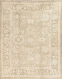 Vegetable Dye Oushak Turkish Area Rug 8x10