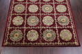 Geometric Red Aubusson Kathmando Oriental Hand-Knotted Area Rug 10x15 image 5