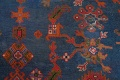 Antique Vegetable Dye Oushak Turkish Hand-Knotted Area Rug Wool 11x16 image 11