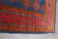 Antique Vegetable Dye Oushak Turkish Hand-Knotted Area Rug Wool 11x16 image 17