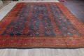 Antique Vegetable Dye Oushak Turkish Hand-Knotted Area Rug Wool 11x16 image 19