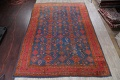 Antique Vegetable Dye Oushak Turkish Hand-Knotted Area Rug Wool 11x16 image 2