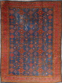 Antique Vegetable Dye Oushak Turkish Hand-Knotted Area Rug Wool 11x16 image 1