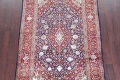 Vegetable Dye Floral Blue Kashan Persian Hand-Knotted Area Rug Wool 5x7 image 3