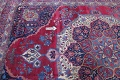 Pre-1900 Vegetable Dye Yazd Antique Persian Hand-Knotted  11x15 Wool Area Rug image 17