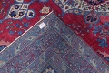 Pre-1900 Vegetable Dye Yazd Antique Persian Hand-Knotted  11x15 Wool Area Rug image 25