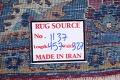 Pre-1900 Vegetable Dye Yazd Antique Persian Hand-Knotted  11x15 Wool Area Rug image 27