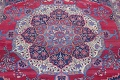 Pre-1900 Vegetable Dye Yazd Antique Persian Hand-Knotted  11x15 Wool Area Rug image 4
