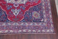 Pre-1900 Vegetable Dye Yazd Antique Persian Hand-Knotted  11x15 Wool Area Rug image 6