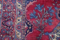 Pre-1900 Vegetable Dye Yazd Antique Persian Hand-Knotted  11x15 Wool Area Rug image 12