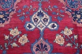 Pre-1900 Vegetable Dye Yazd Antique Persian Hand-Knotted  11x15 Wool Area Rug image 13