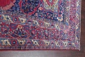 Pre-1900 Vegetable Dye Yazd Antique Persian Hand-Knotted  11x15 Wool Area Rug image 19