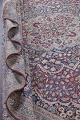 Pre-1900 Antique Floral Mashad Persian Hand-Knotted 10x13 Burgundy Area Rug image 21