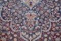 Pre-1900 Antique Floral Mashad Persian Hand-Knotted 10x13 Burgundy Area Rug image 10