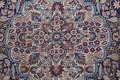 Pre-1900 Antique Floral Mashad Persian Hand-Knotted 10x13 Burgundy Area Rug image 11