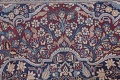 Pre-1900 Antique Floral Mashad Persian Hand-Knotted 10x13 Burgundy Area Rug image 12