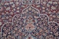 Pre-1900 Antique Floral Mashad Persian Hand-Knotted 10x13 Burgundy Area Rug image 13