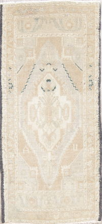 Oushak Turkish Oriental Hand-Knotted 2x4 Wool Rug
