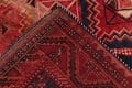 One of a Kind Antique Geometric Lori Persian Hand-Knotted 5x9 Wool Area Rug image 25