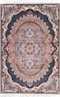Floral Tabriz Turkish Oriental Hand-Knotted 5x7 Area Rug