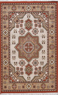 Geometric Medallion Kilim Turkish Oriental 5x8 Area Rug