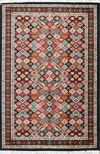 Geometric Modern Turkish Oriental Area Rug