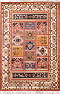 Geometric Gabbeh Turkish Oriental 5x7 Area Rug