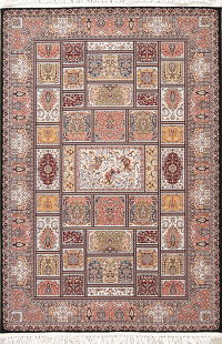 Garden Design Geometric Hereke Turkish Oriental 5x7 Area Rug
