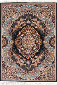 Geometric Medallion Tabriz Turkish Oriental 5x7 Area Rug