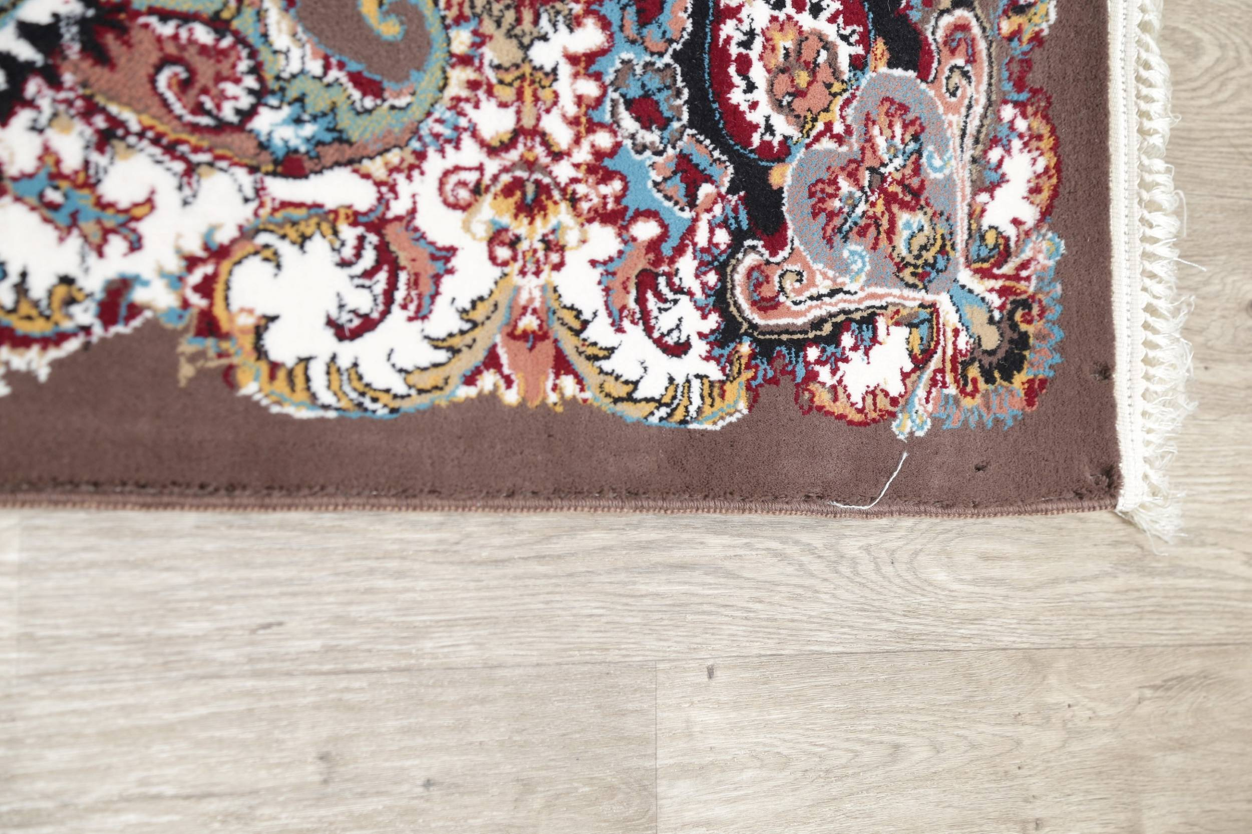 Brown Geometric Medallion Oushak Turkish Oriental 7x10 Area Rug