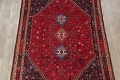 Vegetable Dye Tribal Abadeh Nafar Persian Hand-Knotted 6x9 Wool Area Rug image 20
