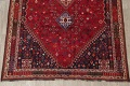 Vegetable Dye Tribal Abadeh Nafar Persian Hand-Knotted 6x9 Wool Area Rug image 18