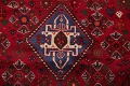 Vegetable Dye Tribal Abadeh Nafar Persian Hand-Knotted 6x9 Wool Area Rug image 14