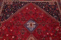 Vegetable Dye Tribal Abadeh Nafar Persian Hand-Knotted 6x9 Wool Area Rug image 1