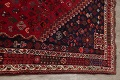 Vegetable Dye Tribal Abadeh Nafar Persian Hand-Knotted 6x9 Wool Area Rug image 11