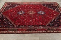 Vegetable Dye Tribal Abadeh Nafar Persian Hand-Knotted 6x9 Wool Area Rug image 10