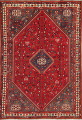 One-of-a-Kind Antique Tribal Shiraz Persian Hand-Knotted 7x10 Wool Area Rug image 13