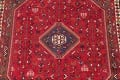 One-of-a-Kind Antique Tribal Shiraz Persian Hand-Knotted 7x10 Wool Area Rug image 22